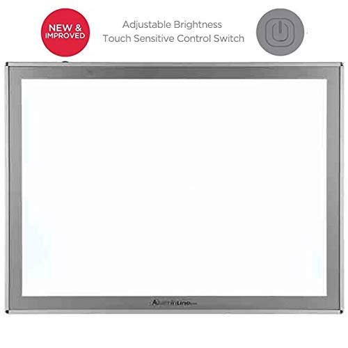 Acurit Thin Line Professional Adjustable Brightness LED Light Box & Tracing Tablet - 17 x 24 by Acurit