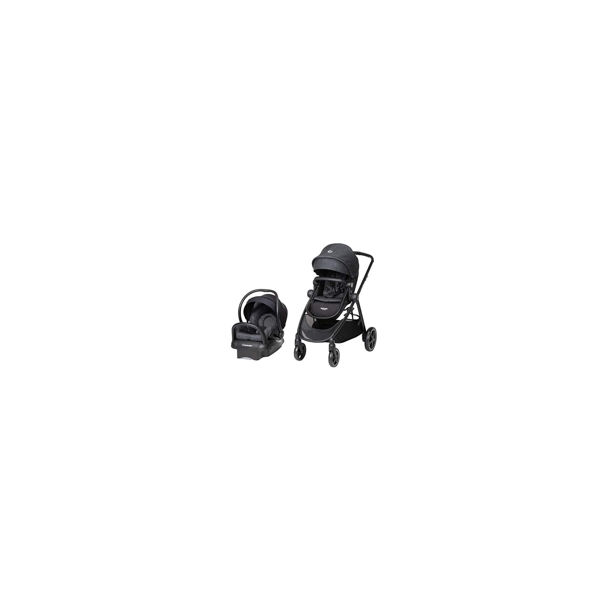 Maxi-Cosi Zelia Max 5-in-1 Modular Travel System, Nomad Black, One Size