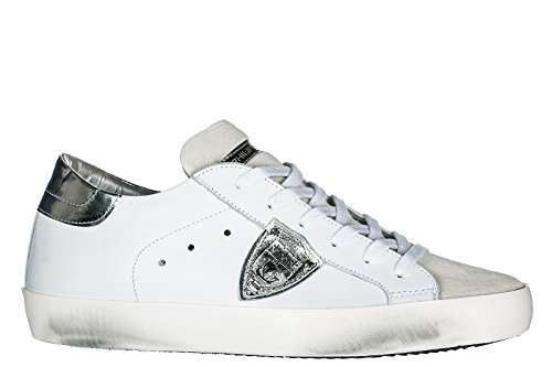 Philippe Model Damer Sko Sneakers Kvinders Lædersko Sneakers Paris Hvid WaZ5pKyhKS