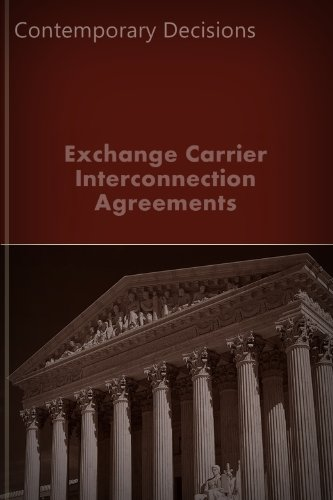 Exchange Carrier Interconnection Agreements  Public Utility Series