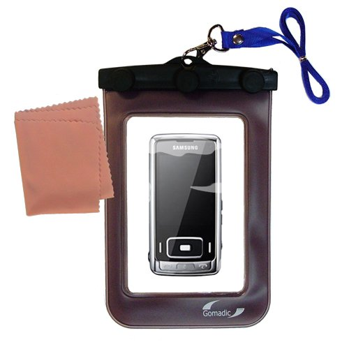 Gomadicアウトドア防水携帯ケースSuitable for the Samsung sgh-g800に使用Underwater – keepsデバイスClean and Dry   B0049KOWH4