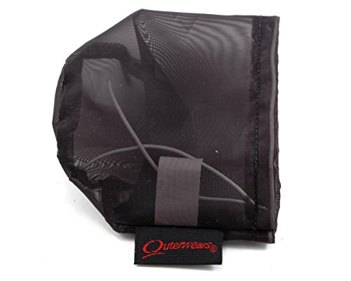Outerwears Performance Pre-Filter Air Filter Cover (2 3/4 Dia. x 2 1/2) (Black) -