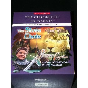 The Chronicles of Narnia Video Edition 3 pack - The Lion, The With and the Wardrobe, The Voyage of the Dawn Treader, and The Silver Chair [VHS] (The Lion The Witch And The Wardrobe Meaning)