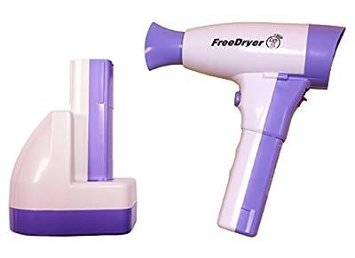 Cordless Hair Dryer (2-battery) FreeDryer 400Watts
