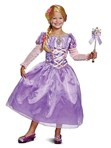 (Disguise Rapunzel Deluxe Child Costume, Purple,)