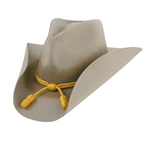Hat Hats Wool Bailey - Bailey Men's Western Cavalry II Hat, Silverbelly, 7 US Men