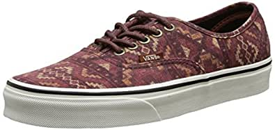 Vans Unisex Classic Authentic Skate Shoe Red 4 D(M) US
