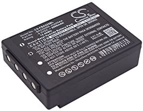 Cameron Sino Replacement Battery Compatible with HBC BA213020 HBC Radiomatic Spectrum 2