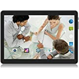 Tablet 10 inch Android 3G Unlocked Phablet with Dual sim Card Slots and Cameras,Tablet PC with WiFi,Bluetooth,GPS (Black)