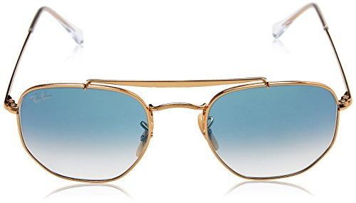 Unisex Gradient 0rb3648 light De ban Ray Gafas Blue Dorado Sol Adulto AxXUwv
