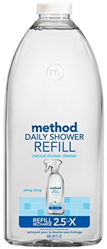 Shower Daily Cleaner Method (Method Daily Shower Refill - Ylang Ylang - 68 oz)