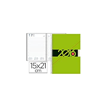Liderpapel 77252 - Agenda De Espiral Liderpapel Syros 15X21 ...