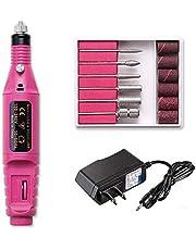 Fantexy Professional Portable Electric Nail Drill,Acrylic Nail Kit, Gel Remover Nail Tools,File Finger Toe Care Nail Tips Nail Care, Nail Polishing Machine Pedicure Machine set