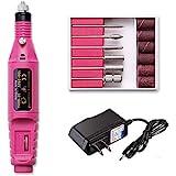 Fantexy Professional Portable Electric Nail Drill,Acrylic Nail Kit, Gel Remover Nail Tools,File Finger Toe Care Nail Tips Nai