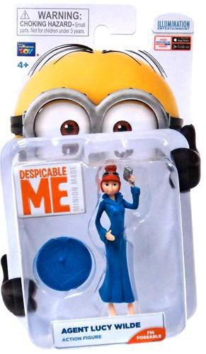 Despicable Me Lucy Wilde Minion Figure by Despicable Me