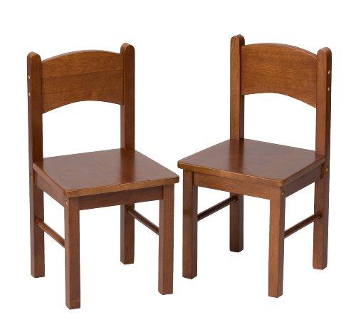 Gift Mark Rectangular Table - Gift Mark Children's 2 Chair Set Designed to match 1406C Table, Cherry