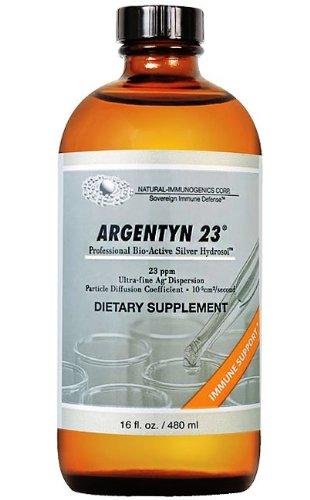 Allergy Research Group - Argentyn 23 Liquid 16 Fl.Oz. Size - 480ml