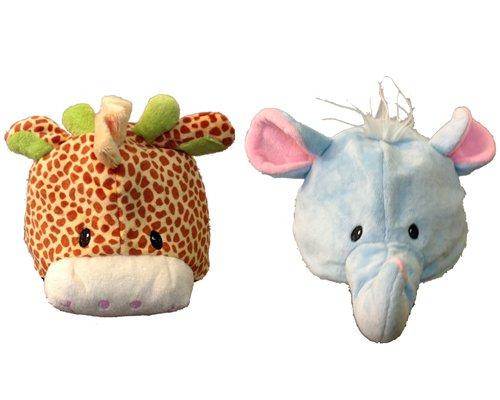 WSWS Kids Animals Elephant and Giraffe Hats, Outdoor Stuffs