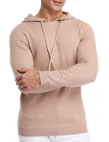 Hiver Pullover À 36 Sweat Aprikosen Hoodie Farbe Homme 48 Oversize Junshan Capuche f0RxAq