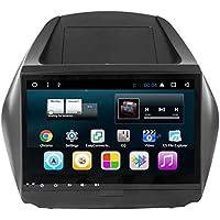 TOPNAVI Head Unit 10.1Inch Android 7.1 Auto Media for Hyundai ix35 2010 2011 2012 2013 2014 2015 Car GPS Navigation Car Radio Stereo with 1GB RAM 16GB ROM WiFi 3G RDS Mirror Link FM Am BT