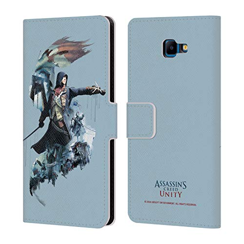 - Official Assassin's Creed Arno Dorian Unity Character Art Leather Book Wallet Case Cover Compatible for Samsung Galaxy J4 Core