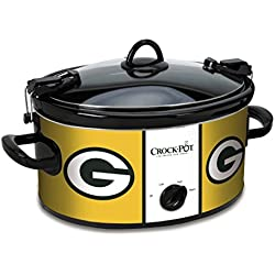 Crock-Pot Green Bay Packers NFL 6-Quart Cook & Carry Slow Cooker
