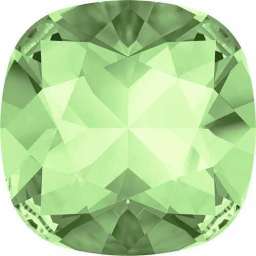 4470 Swarovski Fancy Stones Cushion 10mm | Chrysolite | 10mm - Pack of 2 | Small & Wholesale (Chrysolite Pack)