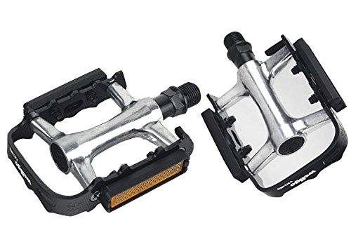 Mayco Bell Bicycle Pedals Platform Commuter Bike 9/16 Aluminum Mountain Bikes Road Pedal