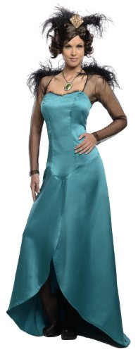 Rubie's Costume Disney's Oz The Great and Powerful Adult Deluxe Evanora Dress and Headpiece, Green, -