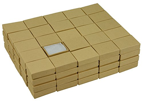JPB Kraft Cotton Filled Jewelry Box #11 (Case of 100) 2