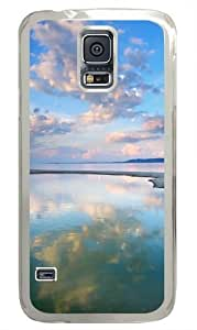 Evening Landscape Polycarbonate Hard Case Cover for Samsung S5/Samsung Galaxy S5 Transparent