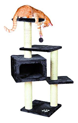 - TRIXIE Pet Products Palamos Cat Tree, Dark Gray