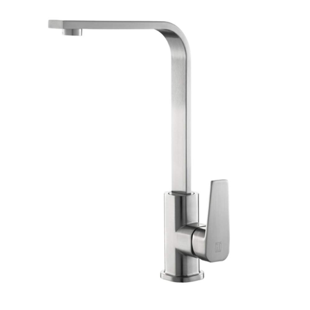 The Kitchen Faucet is hot and Cold. It can redate Copper to wash Vegetable pots and Flume 304 Stainless Steel faucets.