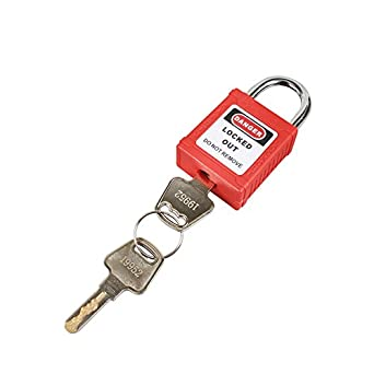 Short Steel Shackle Safety Padlock, KDKAMKKDMK, BOSHI BD