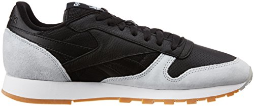 Cloud Scarpe Sneakers Grey Ginnastica Da Nere Black Nero Cl Spp Reebok Leather Grigie RwAqOHRS