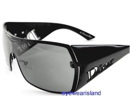 d4c7242f60 New Authentic Christian Dior Sunglasses Gaucho 2 Gaucho2 Hkg95  Size 99-1-135 Gray Lens Black Frame  Amazon.co.uk  Clothing