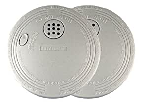 Universal Security Instruments SS-901-2C/3CC Battery-Operated Photoelectric Smoke and Fire Alarm