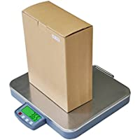CSS 200 lb Large Digital Shipping Scale 0.05 lb 16x 14 Platform