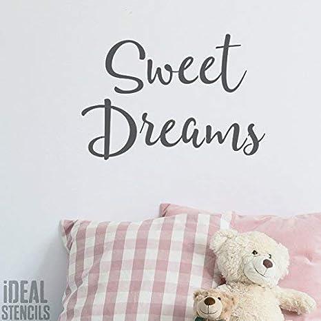 Dulce Dreams Cuarto Del Bebé Plantilla | Pintura Cuarto Del ...