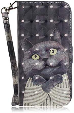 Handyhülle Kompatibel für Samsung Galaxy A31 Hülle Leder Wallet Tasche Flip Cover Schutzhülle für Samsung Galaxy A31 Tasche