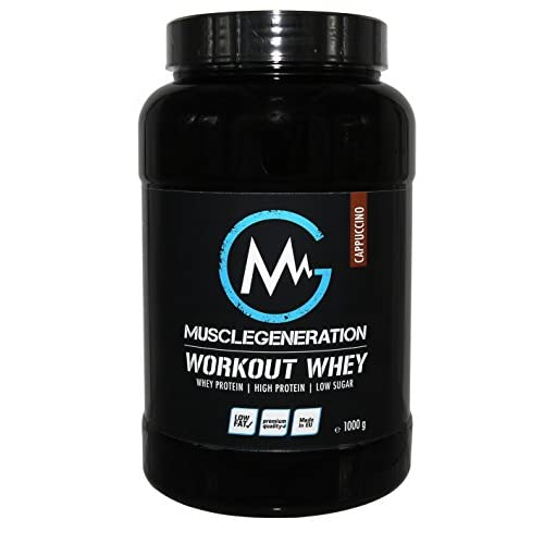 Musclegeneration Workout Whey cappuccino 1000g