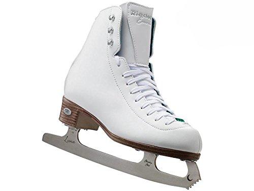 Riedell 19 Emerald - White Skate Medium 2