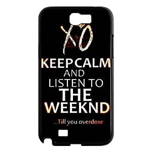 C-EUR Diy Phone Case The Weeknd XO Pattern Hard Case For Samsung Galaxy Note 2 N7100