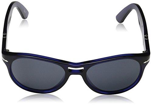 Persol, Lunettes de Soleil Mixte Blau (Gestell: blau, Gläser: azur 1047R5)