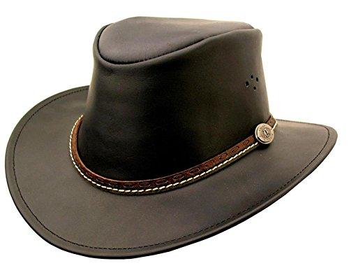 Kakadu Malabar Leather Hat, 2nd - Hat Malabar