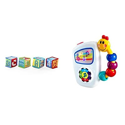 Bright Starts Grab & Stack Blocks and Baby Einstein Take Along Tunes: Baby