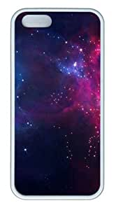 Flashing Star pc White amazing iphone 5S cover for Apple iPhone 5/5S