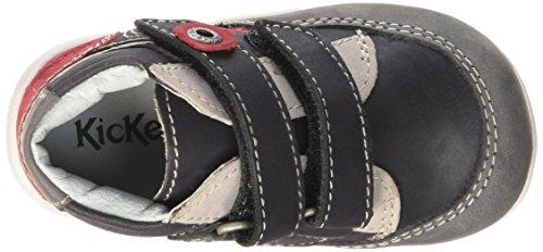 Kickers Baxter - Zapatos de primeros pasos Bebé-Niñas Negro
