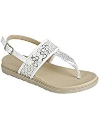 Summer Clearance Sale Aisha Sparkly Sequin Embellished Buckled Dress Sandals for Little Girls (Assorted Colors)