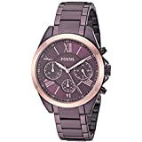 Fossil Women's Modern Courier Stainless Steel Chronograph Dress Quartz Watch